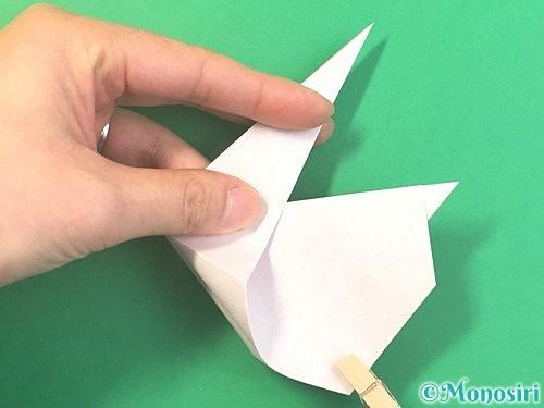 折り紙でうさぎの折り方手順15