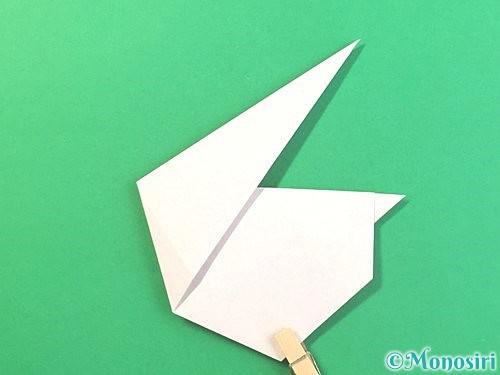 折り紙でうさぎの折り方手順16