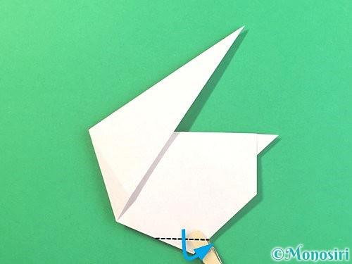 折り紙でうさぎの折り方手順17