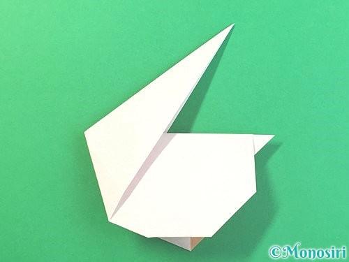 折り紙でうさぎの折り方手順18