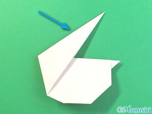 折り紙でうさぎの折り方手順20