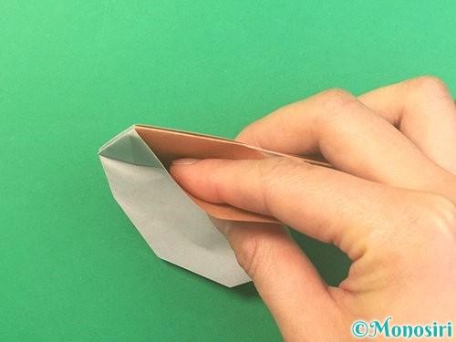折り紙でうさぎの折り方手順23