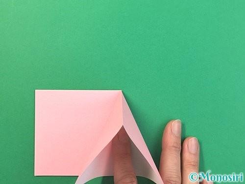 折り紙で風船うさぎの折り方手順6