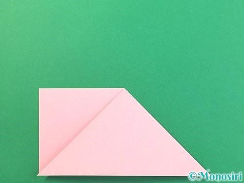 折り紙で風船うさぎの折り方手順8