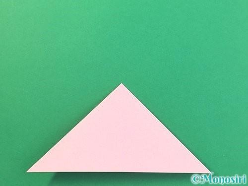 折り紙で風船うさぎの折り方手順9