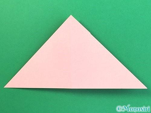 折り紙で風船うさぎの折り方手順21