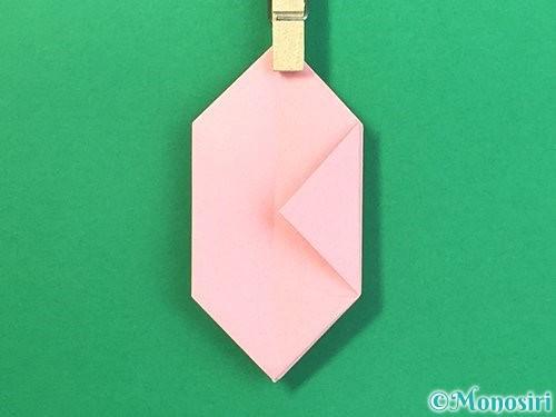 折り紙で風船うさぎの折り方手順33