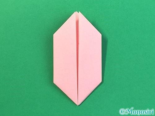 折り紙で風船うさぎの折り方手順35