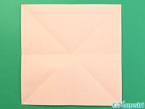 折り紙で立体的なうさぎ折り方手順4