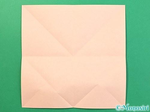 折り紙で立体的なうさぎ折り方手順6