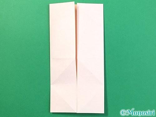 折り紙で立体的なうさぎ折り方手順8