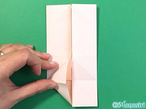 折り紙で立体的なうさぎ折り方手順12