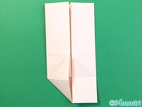 折り紙で立体的なうさぎ折り方手順13