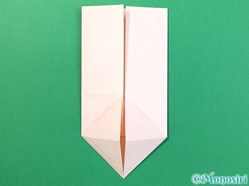 折り紙で立体的なうさぎ折り方手順14