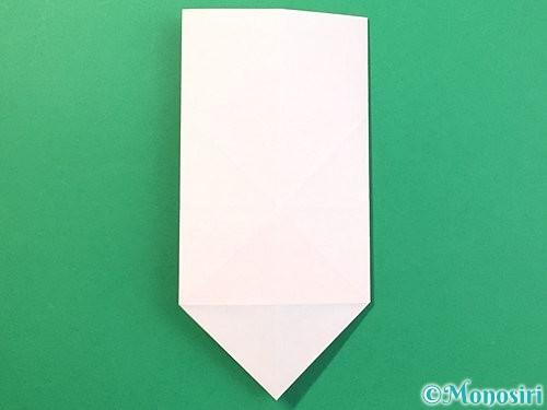 折り紙で立体的なうさぎ折り方手順15
