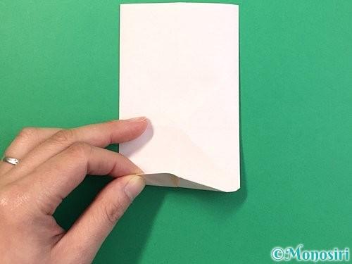 折り紙で立体的なうさぎ折り方手順17