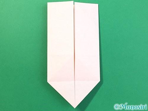 折り紙で立体的なうさぎ折り方手順20
