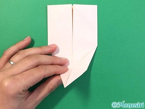 折り紙で立体的なうさぎ折り方手順24