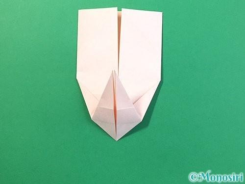 折り紙で立体的なうさぎ折り方手順26