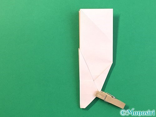 折り紙で立体的なうさぎ折り方手順31
