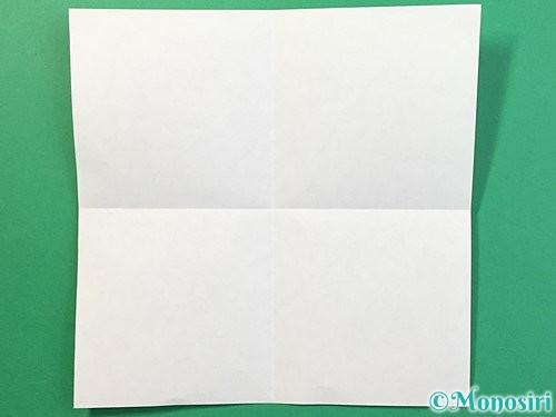 折り紙でぴょんぴょんうさぎの折り方手順2