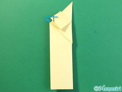 折り紙でぴょんぴょんうさぎの折り方手順21