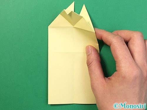 折り紙でぴょんぴょんうさぎの折り方手順26