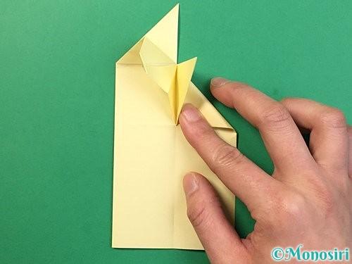 折り紙でぴょんぴょんうさぎの折り方手順27