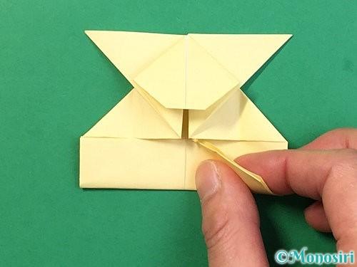 折り紙でぴょんぴょんうさぎの折り方手順37