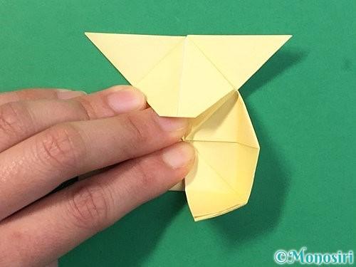 折り紙でぴょんぴょんうさぎの折り方手順38