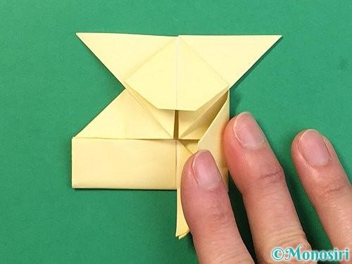 折り紙でぴょんぴょんうさぎの折り方手順40