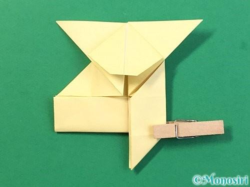 折り紙でぴょんぴょんうさぎの折り方手順41