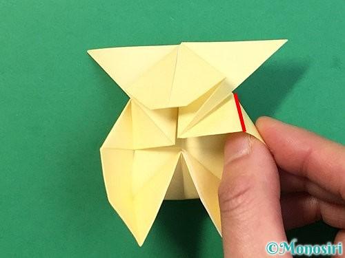 折り紙でぴょんぴょんうさぎの折り方手順46