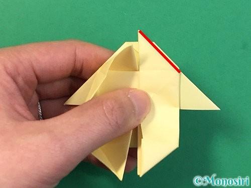 折り紙でぴょんぴょんうさぎの折り方手順49