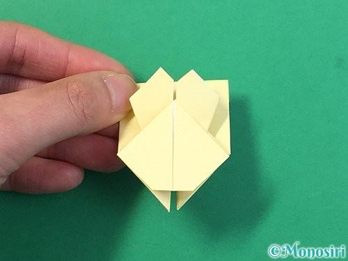折り紙でぴょんぴょんうさぎの折り方手順65