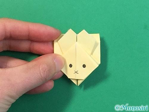 折り紙でぴょんぴょんうさぎの折り方手順66