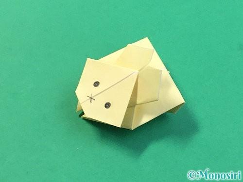 折り紙でぴょんぴょんうさぎの折り方手順67
