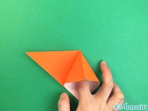 折り紙でトンボの折り方手順6