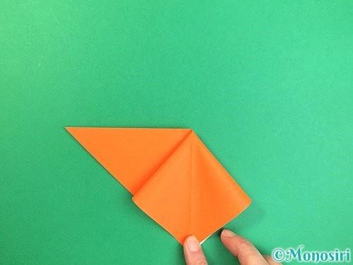 折り紙でトンボの折り方手順7