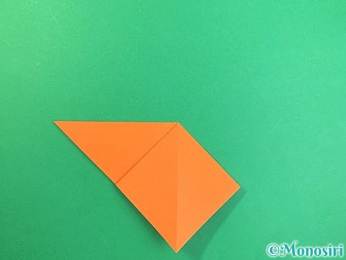 折り紙でトンボの折り方手順8