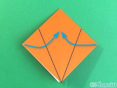 折り紙でトンボの折り方手順10