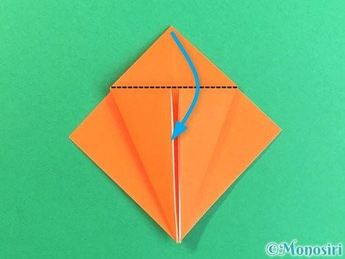 折り紙でトンボの折り方手順12
