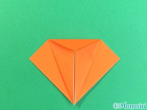 折り紙でトンボの折り方手順13