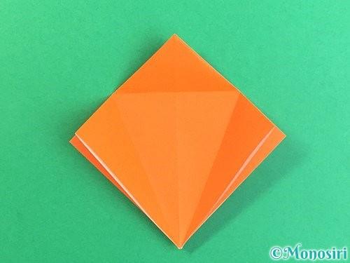 折り紙でトンボの折り方手順15