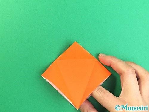 折り紙でトンボの折り方手順17
