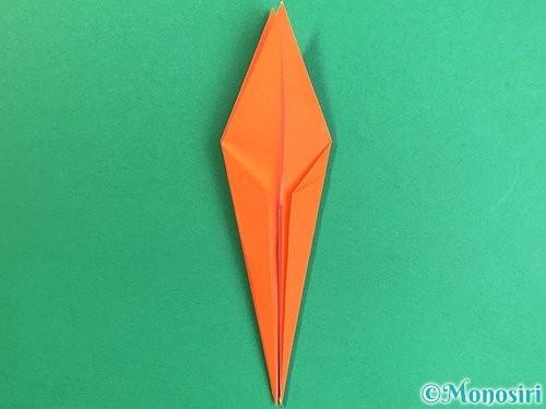 折り紙でトンボの折り方手順23