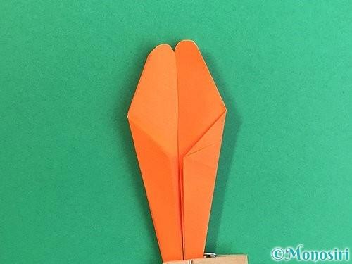 折り紙でトンボの折り方手順25