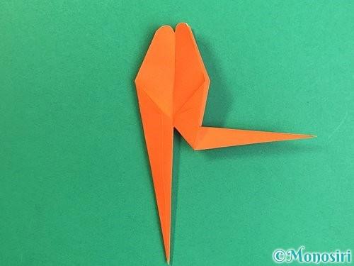 折り紙でトンボの折り方手順30