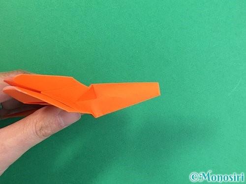 折り紙でトンボの折り方手順33