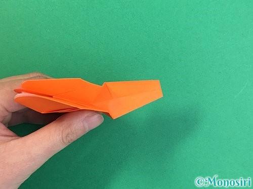折り紙でトンボの折り方手順35